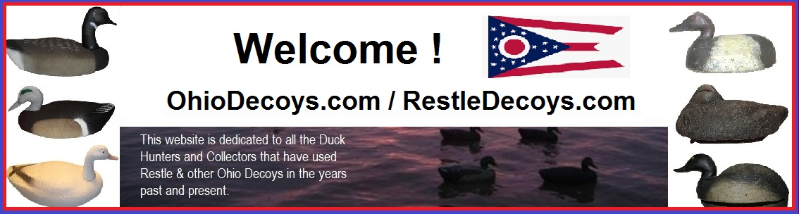 RESTLE DECOY COLLECTORS - Ohio Waterfowl Swap MEET